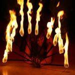 Tűzzsonglőrök - Tűztánc Show